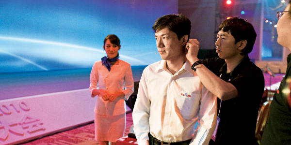 Baidu CEO Robin Li photographed by Andrew Rowat