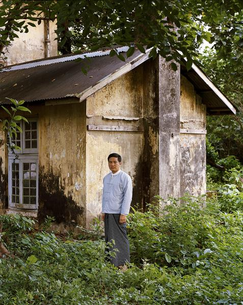 A portrait of author and historian Thant Myint-U at his grandfather's former home in Yangon, Myanmar. Thant Myint-U was born in New York City to Burmese parents and is the grandson of former UN Secretary-General U Thant. He currently lives in Bangkok.