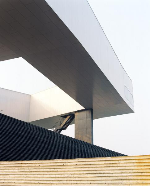 The Nanjing Museum of Art and Architecture designed by Steven Holl Architects.