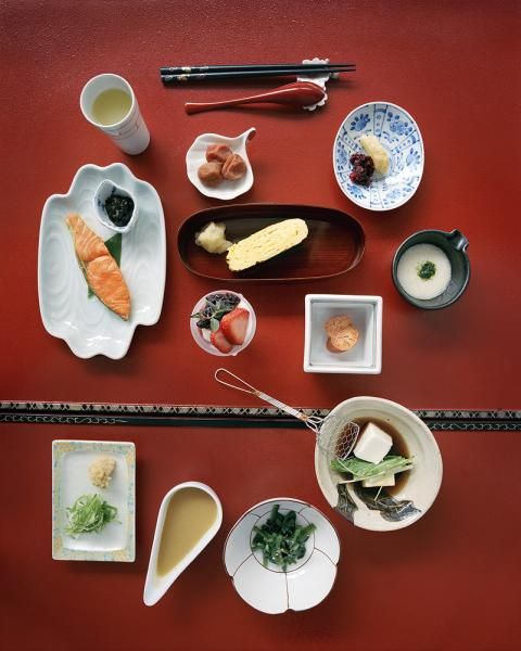Takinoya Ryokan in Noboribetsu Japan.