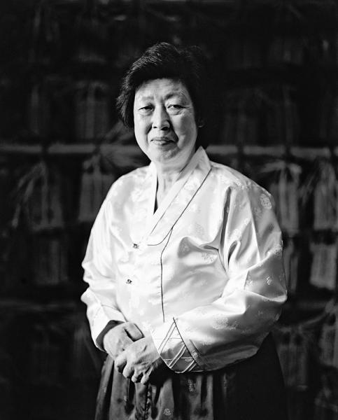 Kisoondo Traditional Foods, in Changpyeong, South Korea. The matriarch of this operation, Soon Do Ki, prepares all of the traditional sauces from local organic ingredients.