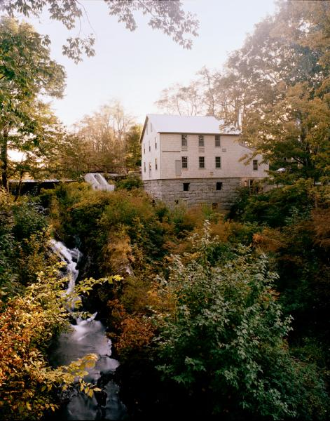 Erin French's new location for her restaurant, The Lost Kitchen, located at the Mill at Freedom Falls, Maine.