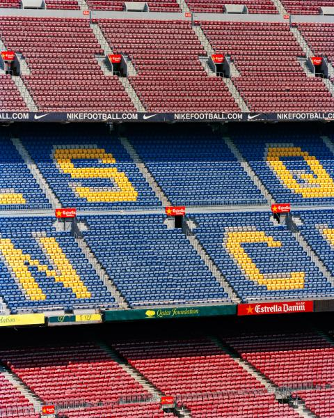 Home to football (soccer in North America) powerhouse FC Barcelona, Camp Nou is a 99,000 seat stadium in Les Corts district of Barcelona. The stadium itself was built in 1957 after the club outgrew its previous digs, and the team itself traces its roots back to 1889.