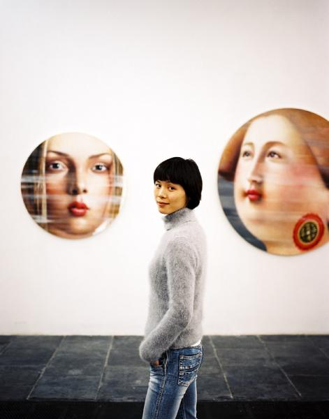 A curator at Beijing's F2 contemporary art gallery.