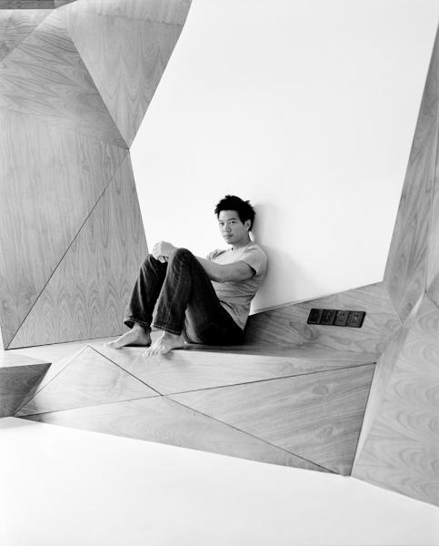 Architect Shin Chow in his Shanghai apartment.